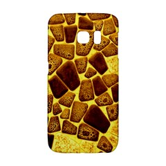 Yellow Cast Background Samsung Galaxy S6 Edge Hardshell Case by Jojostore