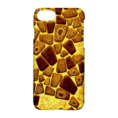 Yellow Cast Background Apple Iphone 8 Hardshell Case by Jojostore