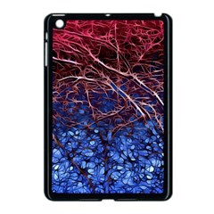 Autumn Fractal Forest Background Apple Ipad Mini Case (black)