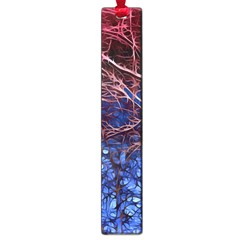 Autumn Fractal Forest Background Large Book Marks by Jojostore
