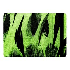 Green Tiger Background Fabric Animal Motifs Apple Ipad 9 7