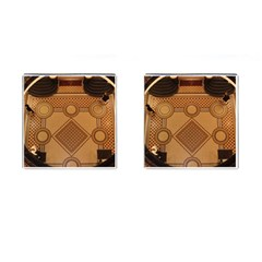 The Elaborate Floor Pattern Of The Sydney Queen Victoria Building Cufflinks (square) by Jojostore