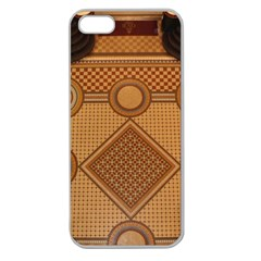 The Elaborate Floor Pattern Of The Sydney Queen Victoria Building Apple Seamless Iphone 5 Case (clear) by Jojostore