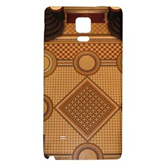 The Elaborate Floor Pattern Of The Sydney Queen Victoria Building Samsung Note 4 Hardshell Back Case by Jojostore