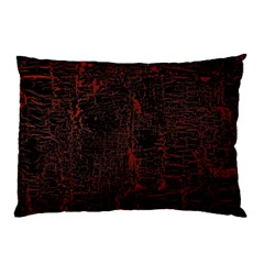 Black And Red Background Pillow Case (two Sides) by Jojostore