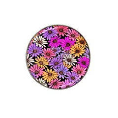 Floral Pattern Hat Clip Ball Marker (10 Pack) by Jojostore