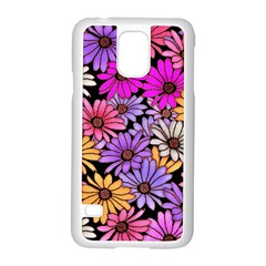 Floral Pattern Samsung Galaxy S5 Case (white) by Jojostore