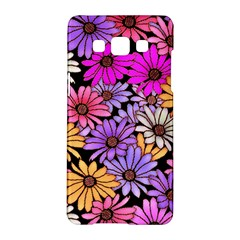 Floral Pattern Samsung Galaxy A5 Hardshell Case  by Jojostore