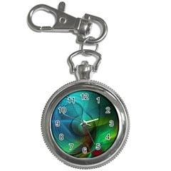 Background Nebulous Fog Rings Key Chain Watches by Jojostore
