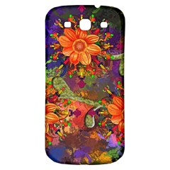 Abstract Flowers Floral Decorative Samsung Galaxy S3 S Iii Classic Hardshell Back Case by Jojostore