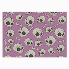 Halloween Skull Pattern Large Glasses Cloth (2 Side)