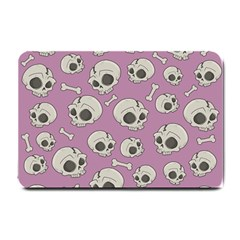 Halloween Skull Pattern Small Doormat