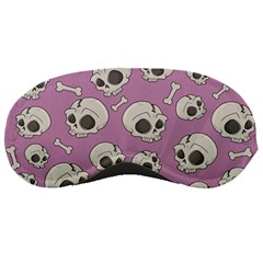 Halloween Skull Pattern Sleeping Masks