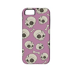Halloween Skull Pattern Apple Iphone 5 Classic Hardshell Case (pc+silicone)
