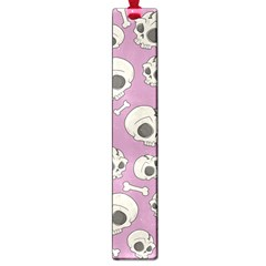 Halloween Skull Pattern Large Book Marks