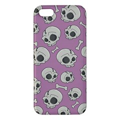 Halloween Skull Pattern Iphone 5s/ Se Premium Hardshell Case