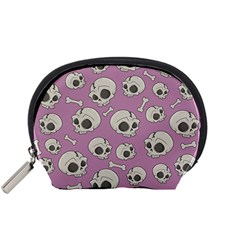 Halloween Skull Pattern Accessory Pouch (small)
