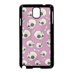 Halloween Skull Pattern Samsung Galaxy Note 3 Neo Hardshell Case (black)