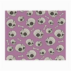 Halloween Skull Pattern Small Glasses Cloth