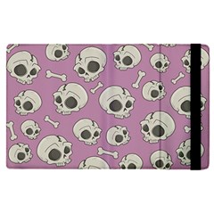 Halloween Skull Pattern Apple Ipad Pro 9 7   Flip Case