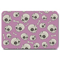 Halloween Skull Pattern Large Doormat