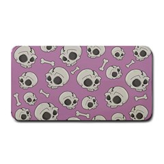 Halloween Skull Pattern Medium Bar Mats