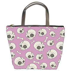 Halloween Skull Pattern Bucket Bag