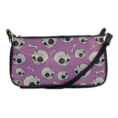 Halloween Skull Pattern Shoulder Clutch Bag