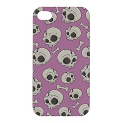 Halloween Skull Pattern Apple Iphone 4/4s Hardshell Case