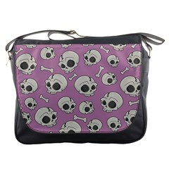 Halloween Skull Pattern Messenger Bag