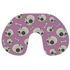Halloween Skull Pattern Travel Neck Pillows