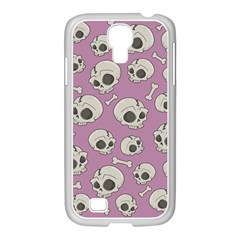Halloween Skull Pattern Samsung Galaxy S4 I9500/ I9505 Case (white)