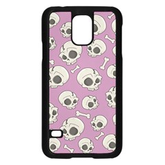 Halloween Skull Pattern Samsung Galaxy S5 Case (black)