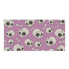 Halloween Skull Pattern Satin Wrap