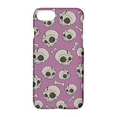 Halloween Skull Pattern Apple Iphone 8 Hardshell Case