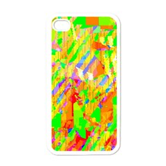 Cheerful Phantasmagoric Pattern Apple Iphone 4 Case (white) by Jojostore