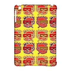 Funny Faces Apple Ipad Mini Hardshell Case (compatible With Smart Cover) by Jojostore