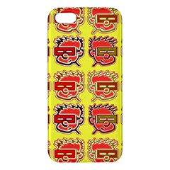 Funny Faces Apple Iphone 5 Premium Hardshell Case