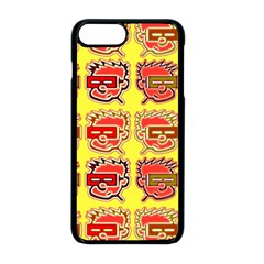 Funny Faces Apple Iphone 8 Plus Seamless Case (black) by Jojostore