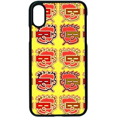 Funny Faces Apple Iphone X Seamless Case (black) by Jojostore