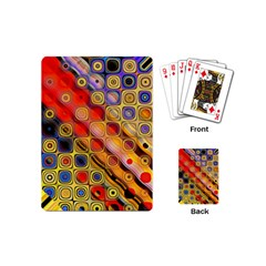 Background Texture Pattern Playing Cards (mini)