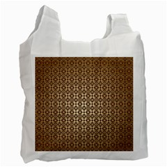 Background Seamless Repetition Recycle Bag (one Side) by Jojostore