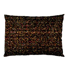 Colorful And Glowing Pixelated Pattern Pillow Case by Jojostore