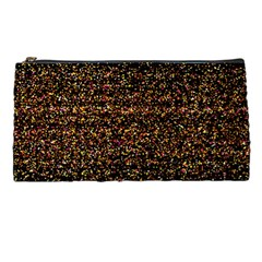 Colorful And Glowing Pixelated Pattern Pencil Cases
