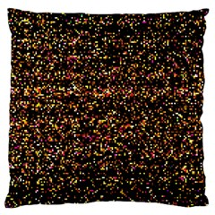 Colorful And Glowing Pixelated Pattern Large Cushion Case (two Sides) by Jojostore