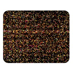 Colorful And Glowing Pixelated Pattern Double Sided Flano Blanket (large)