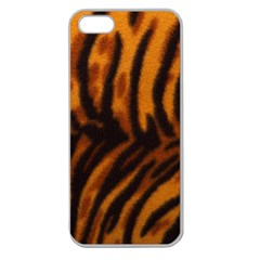 Animal Background Cat Cheetah Coat Apple Seamless Iphone 5 Case (clear) by Jojostore
