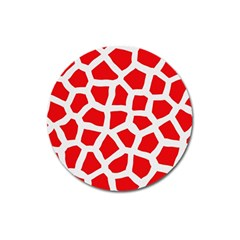 Animal Animalistic Pattern Magnet 3  (round) by Jojostore