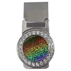 Construction Paper Iridescent Money Clips (cz)