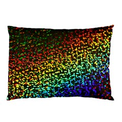 Construction Paper Iridescent Pillow Case (two Sides) by Jojostore